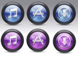 iTunes icons by FreeIconsFinder