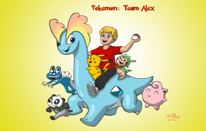 Pokemon: Team Alex by Gorpo