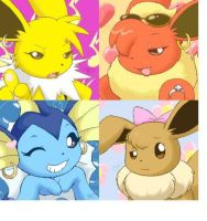 Eevee sister by Spartanextutos