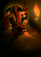 It's Helluva Cave by 0tacoon