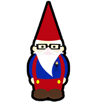 Gnerdy Gnome Charm by egyptianruin