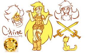 Citrine gemsona by Ruef-Bae
