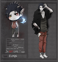 #LS: Demon Contract - Elyos by LollipopShana