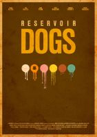 Reservoir Dogs Movie poster by itsmesimon