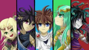 Kid Icarus: Uprising - 4 Year Anniversary by ShadowKirby777