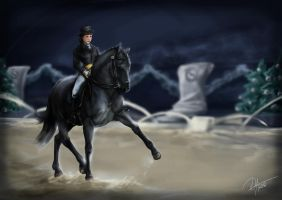 HARPG-de Winter Event - Dressage by Darya87
