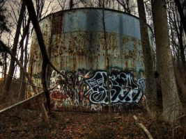 Old Water Tower by Scipio164