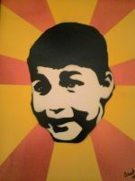 my son (spray paint) by acedoza1