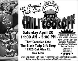 Chili Cook Off- Creative Catering AD by Joe5art