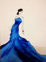 Blue Dress by nupursanyal