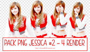 PACK PNG JESSICA #2 ~ 4 RENDER by CeByun688