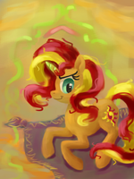 Sunset Shimmer by Fahu