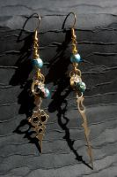 Throughout Time Earrings 01 by taeliac