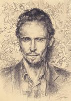 Tom Hiddleston by Shiro-Rin
