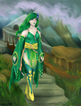 Rydia by salthyart