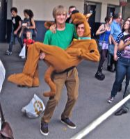 Shaggy and Scooby by ZeroKing2010