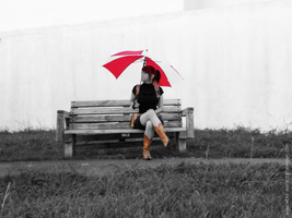 Under my Umbrella by VickyxRedfield