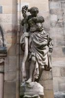Saint Christobal at Sebald church by andersvolker