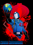 Cobra Commander by dwaynebiddixart