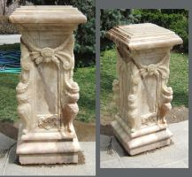 Marble Plinth by fuguestock