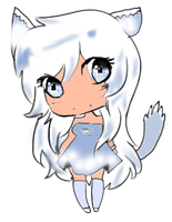 Shiro the neko human by oOAngelNekoChanOo