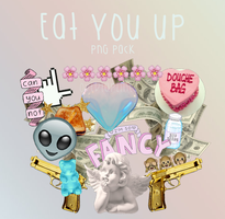 Eat You Up!  PNG PACK by overlaplines