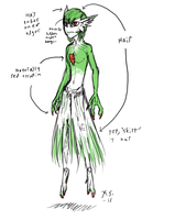 Realistic Gardevoir concept by The-Clockwork-Crow