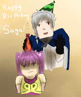 AoH: Happy Birthday, Saga by ThunderSpade