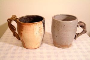 roped mugs by Recycled-Oxygen