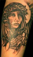 Virgin Mary Tattoo by Phedre1985