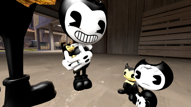 A New Family Member (BATIM) by Clawort-Animations