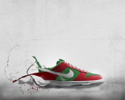 Nikeid shoe by Mozzletoff