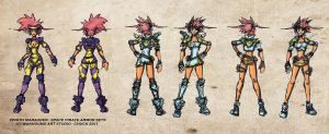 Space Pirates Armors x1 Design by Warhound-CMP