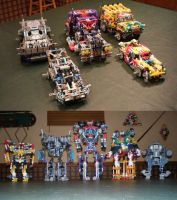 The Knex Autobots by Glitched9700