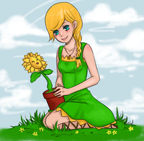 Bryani the Sunflora by The-Noodles