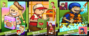 Nick Greg And Yippy Collage by hershey990