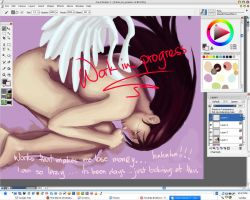 Fallen Angel - wip by madcoffee