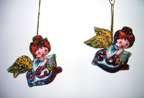 Sequin Ornaments by WDWParksGal