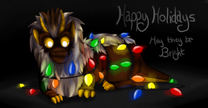 Happy Holidays by Drakon-the-Demon