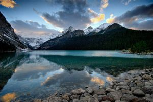 Lake Louise II by mole2k