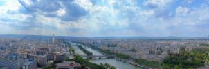 Paris - 360 Panorama by bianco-c