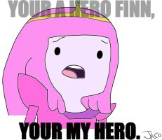 Your A Hero Finn, by ElArtistaJACO