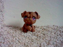 LPS: Brown Bulldog by ButchxButtercup1996