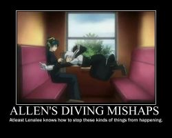 Allen's Diving Mishaps by wreathdeathscyte