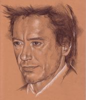 Robert Downey Jr. by Anna-Mariaa