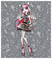Rochelle Goyle from Monster High by marjol3in1977