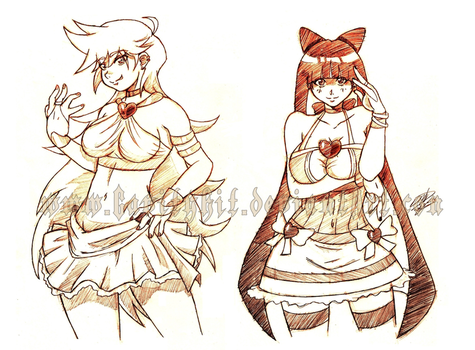 Panty And Stocking Garterbelt by gh07