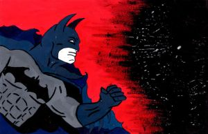 Batman In To Darkness by heartofthesouth