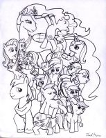 A Tower of Ponies by Syggie
