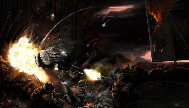 Frontal Assault by Patriartis
